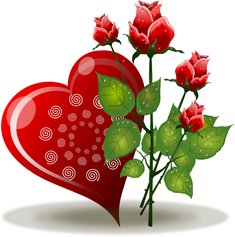 free download Roses free to use. Bouquet clipart valentines day rose