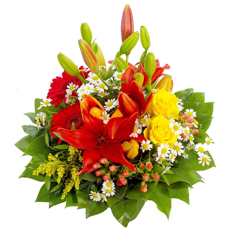 banner stock Flower bouquet png