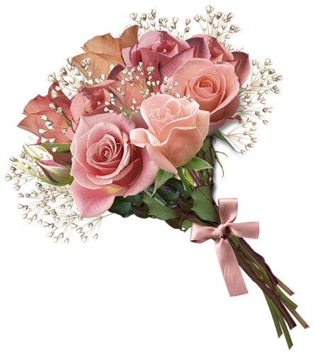 banner free stock Bouquet Of Flowers In PNG