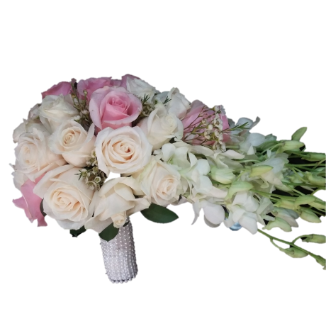 banner royalty free stock bridal bouquet