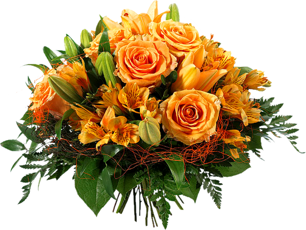 black and white download bouquet transparent orange #90757920