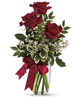 clipart library Thoughts of You Bouquet with Red Roses