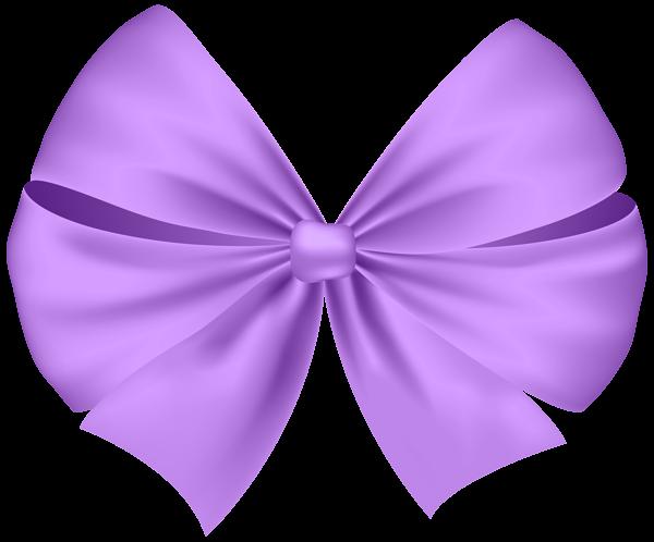 banner transparent Violet Bow Transparent PNG Clip Art Image