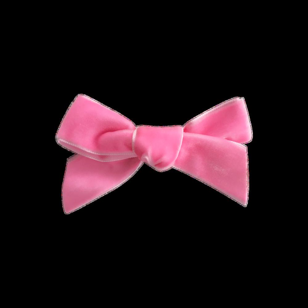 clip library stock Primrose French Velvet Bow Clip