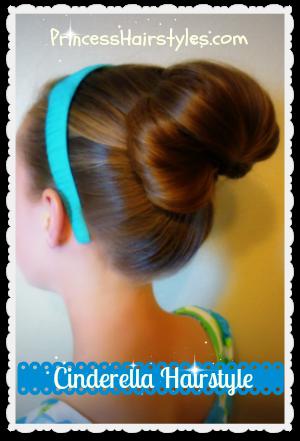 transparent stock Cinderella Hairstyle