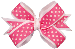 banner royalty free library Pink and White Sweetie Bow