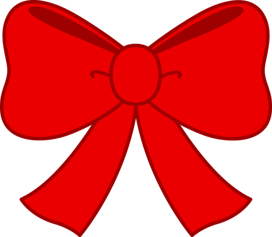 image royalty free library Red clipart. Cute bow free clip
