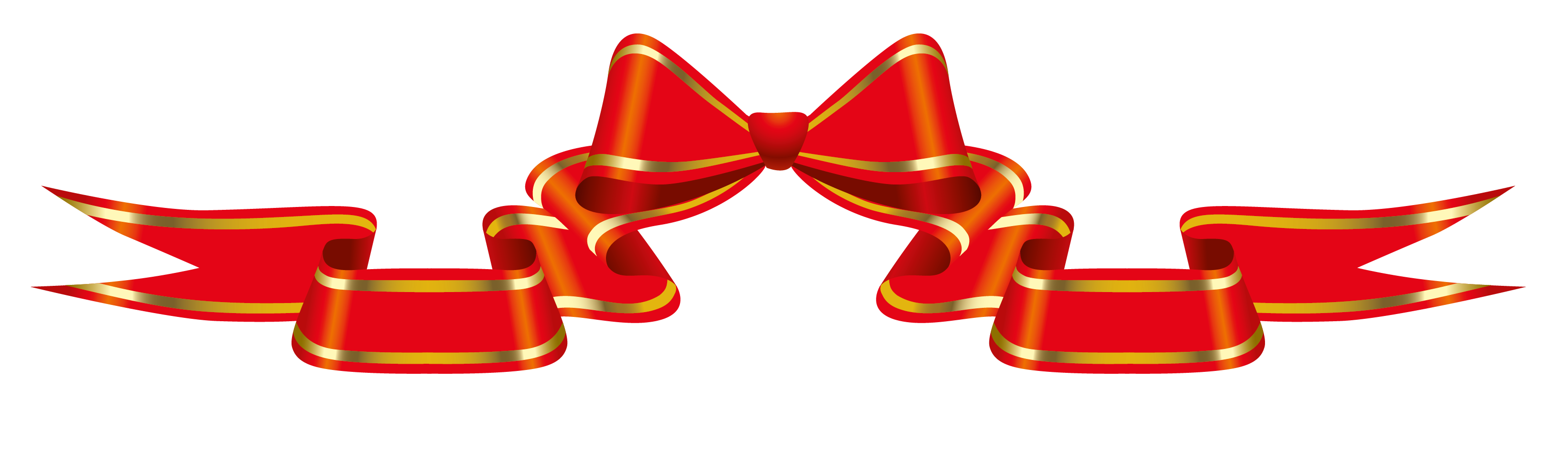 clip library download Red with png picture. Bow clipart banner