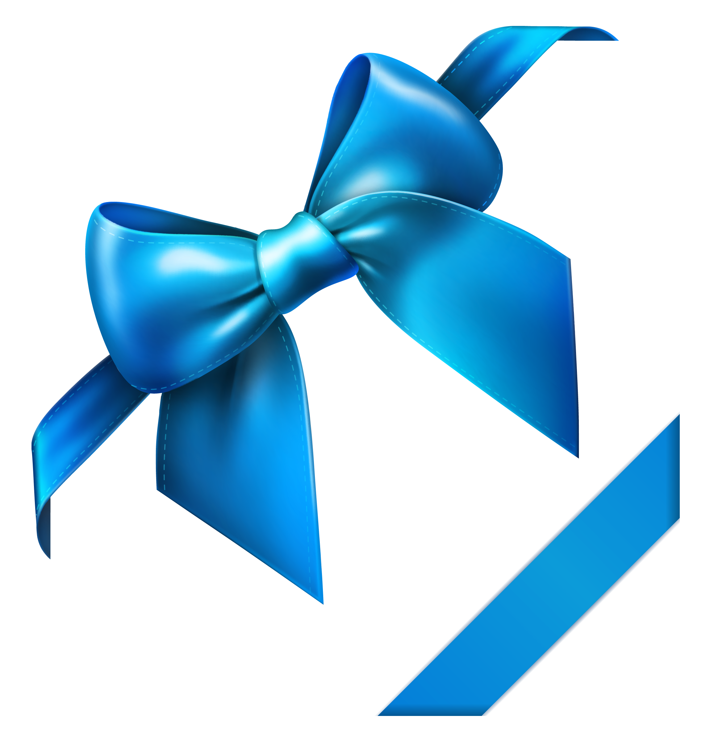 graphic download Bow clipart banner. Blue png picture gallery