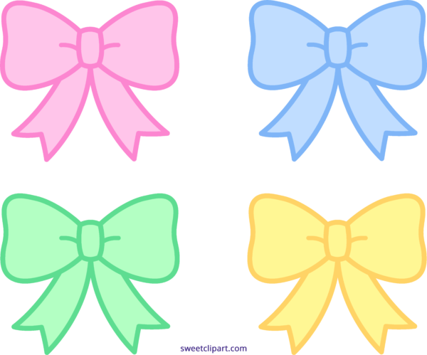 picture library Bow clipart four. Archives sweet clip art