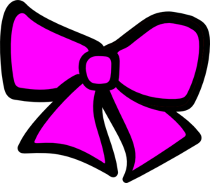 image freeuse download Bow clipart girl bow. Pink hair clip art
