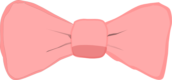svg freeuse Pink clip art at. Bow clipart girl bow