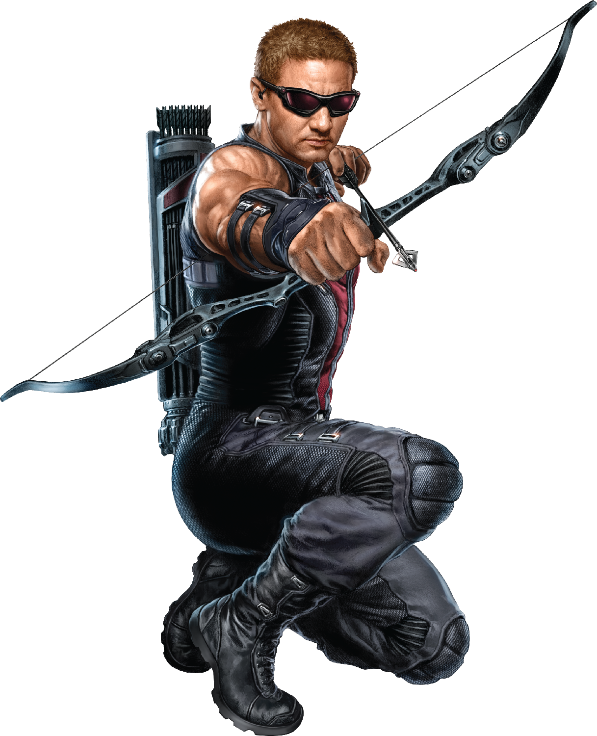 jpg library download Image png death battle. Bow clipart hawkeye