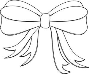 graphic stock Bows clipart line drawing. Ribbon at getdrawings com