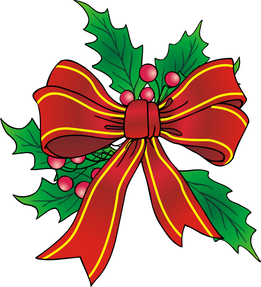banner free library Bow clipart xmas. Free christmas cliparts download