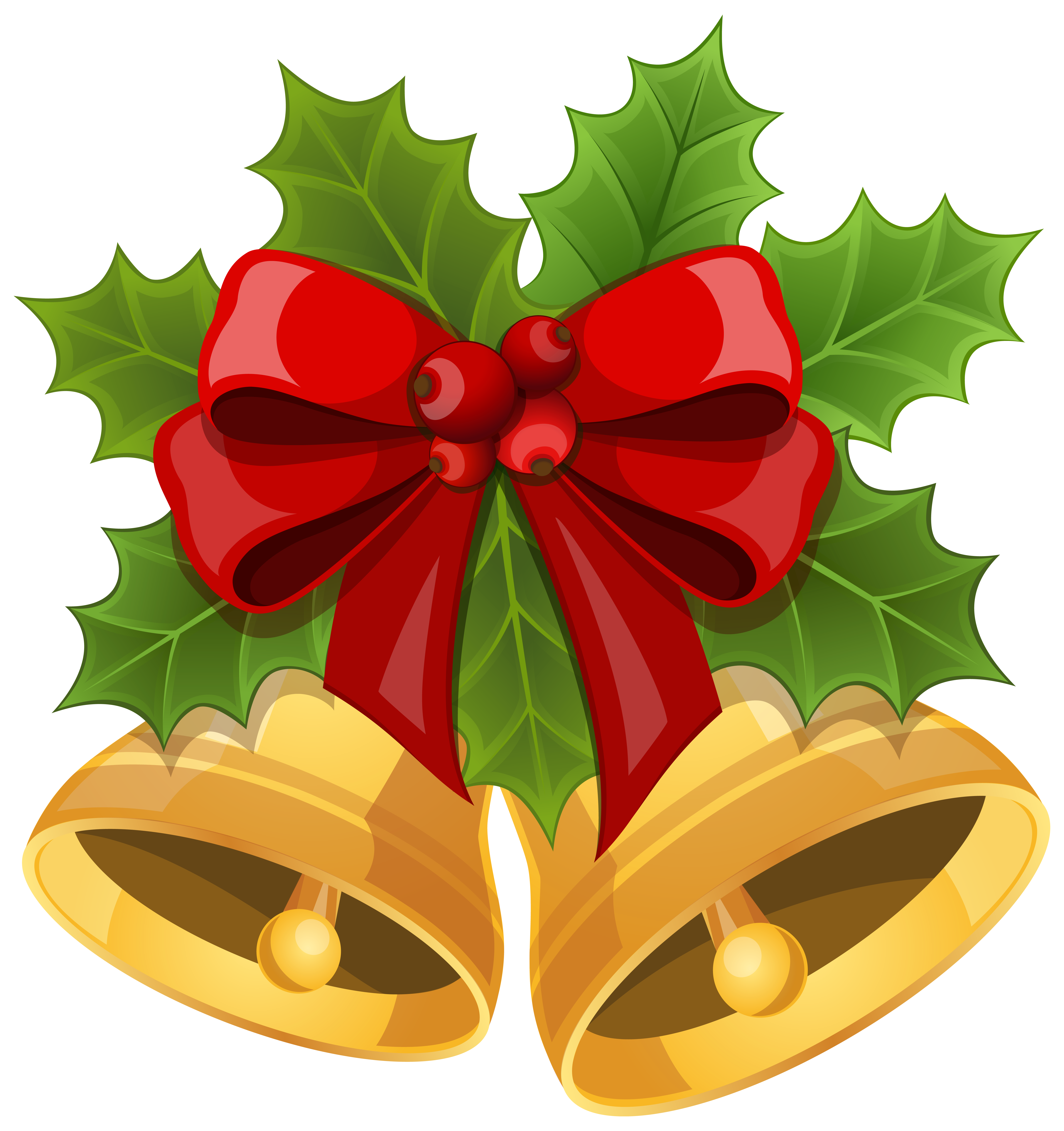 clip royalty free download Bow clipart xmas. Christmas bells with png