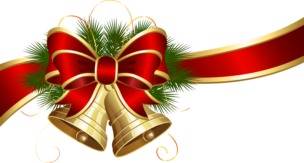 banner transparent library Christmas No Background Clipart