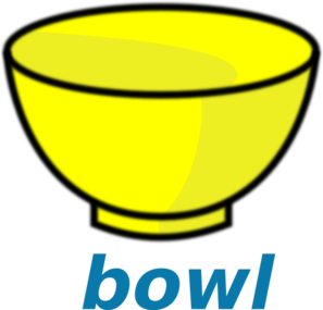 jpg free stock Clip art at clker. Bowl clipart