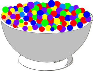 jpg transparent Of colorful cereal clip. Bowl clipart animated