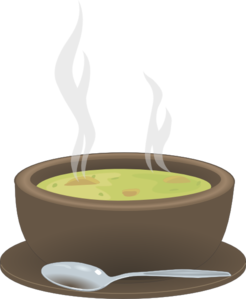 image free stock Bowl clipart hot soup. Steaming of clip art.