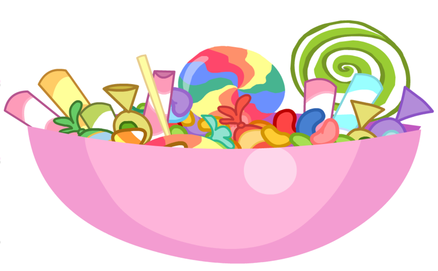 clipart transparent stock Vector candy pile. Image nightmare night bowl