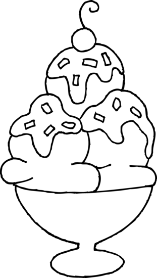 clipart stock  collection of ice. Sundae clipart color