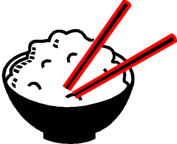 picture free Rice Bowl Black And Red Centered Clip Art at Clker