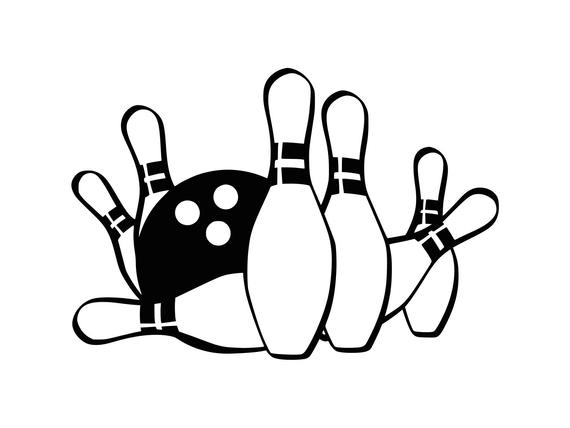 picture royalty free stock Bowling clipart. Svg ball cut file