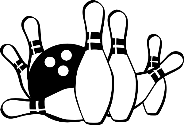 clip art download Strike . Bowling clipart.