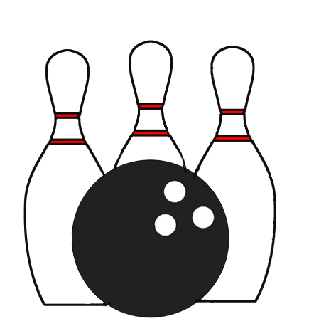 graphic freeuse library Bowling Clipart