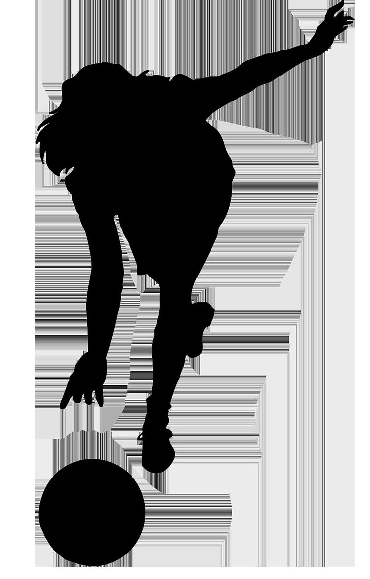 jpg transparent Free pinterest silhouette. Bowling clipart bowler.