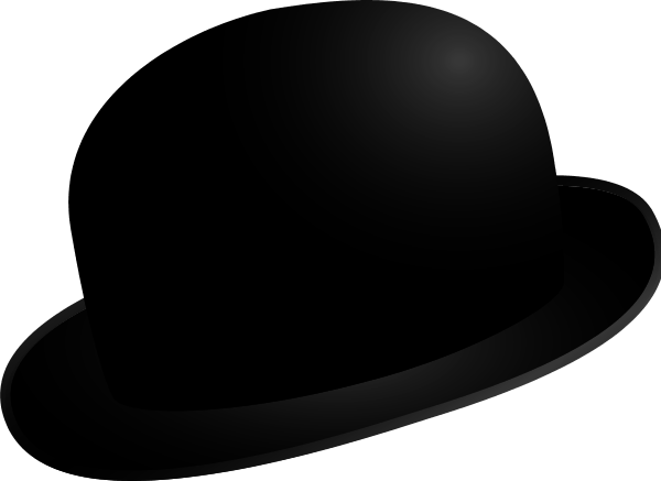 svg library download Bowling clipart bowler. Hat .