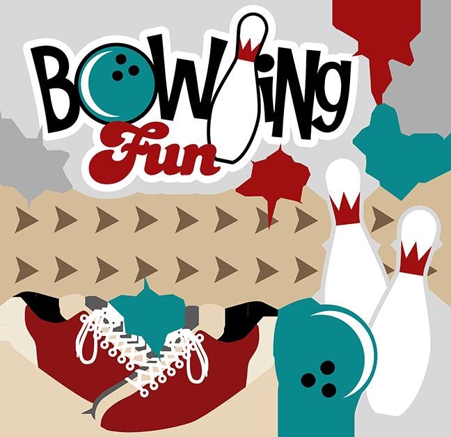 clip art freeuse Cute Bowling Clipart