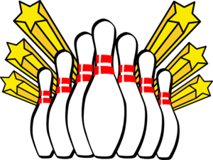 clipart royalty free stock Alley group pins clip. Bowling clipart cute