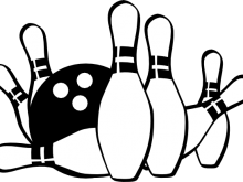 graphic freeuse download Free images pictures clipartix. Bowling clipart cute