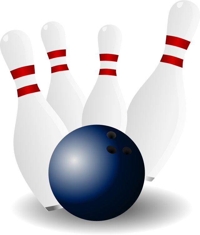 royalty free stock Image for pin sport. Bowling clipart rock and roll