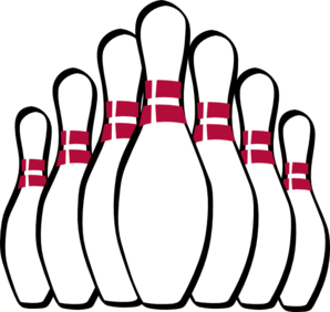 jpg freeuse stock Bowling clipart side view. Alley group free clip.