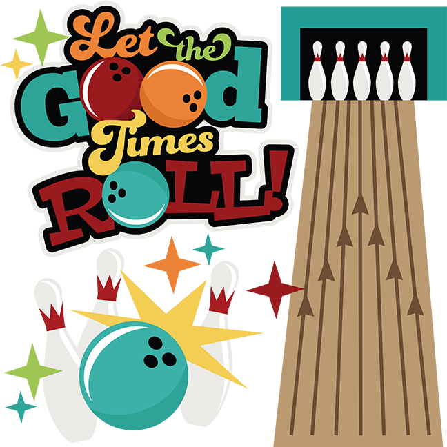 picture transparent stock Let the good times. Bowling clipart side view.