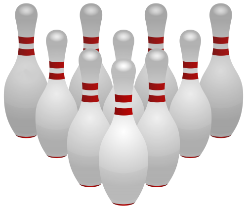 banner download Buildings clipart bowling alley. Pins png clip art