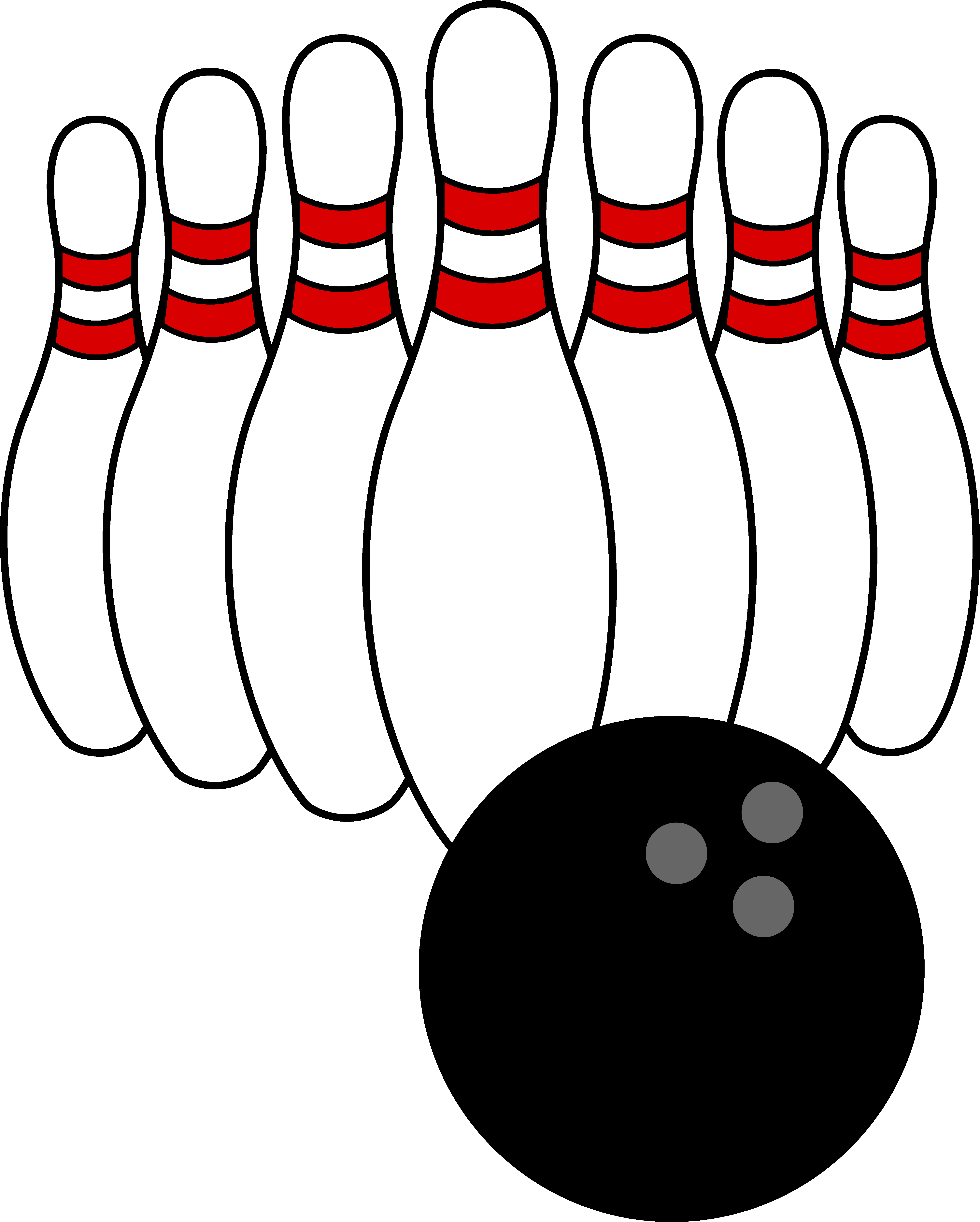 clip art library Bowling clipart splash. Pin pencil and in