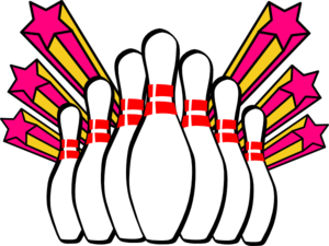 svg library stock Bowling clipart. Free sports clip art