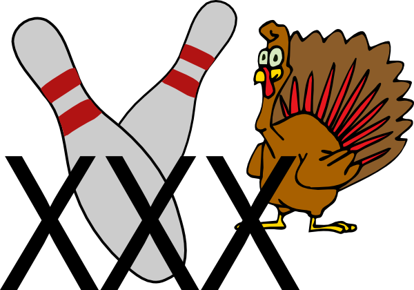 banner royalty free stock Bowling Turkey Clip Art at Clker