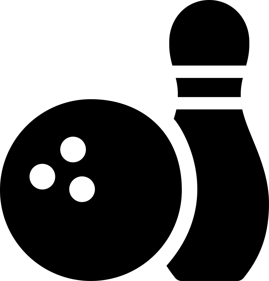 library Collection of free Bowling clipart svg