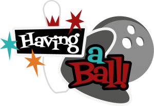 clipart freeuse Having A Ball SVG scrapbook title bowling svg files bowling svg cuts