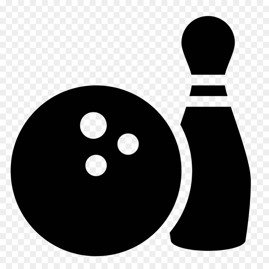 picture free Bowling transparent icon. Black png download free