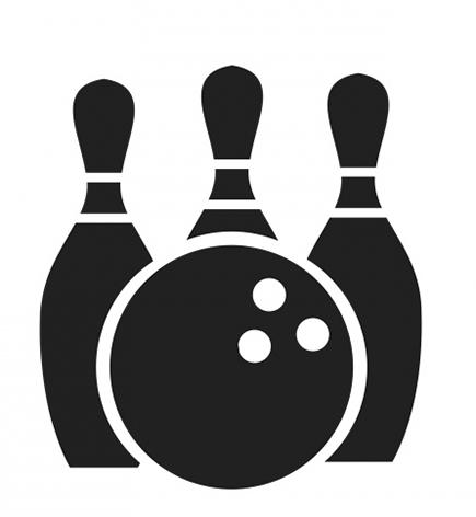 jpg transparent download Clipart background . Bowling transparent icon