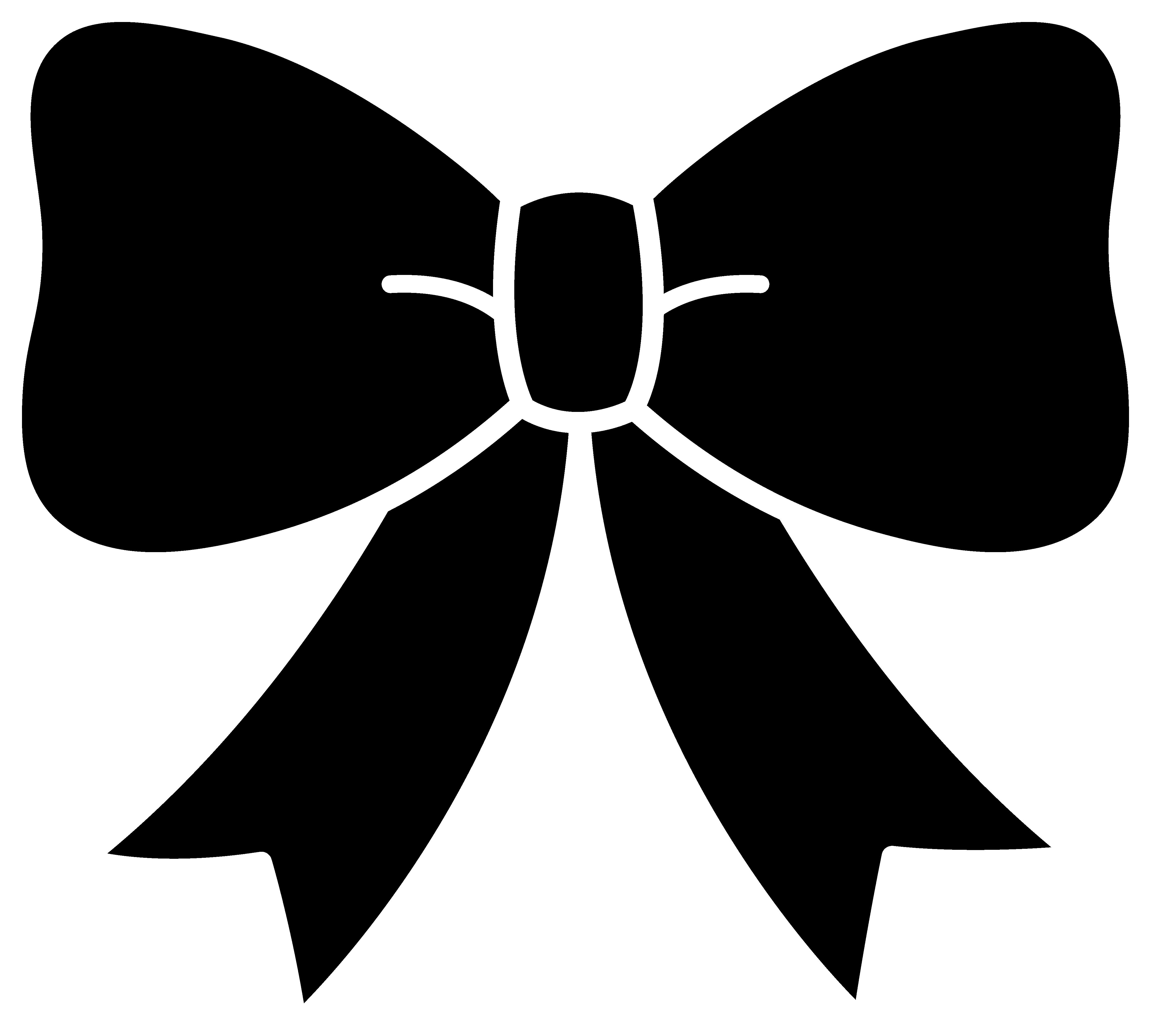 graphic Hair bow clip art