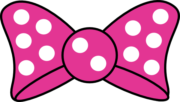 royalty free library Minnie mouse physic minimalistics. Bows clipart bow disney