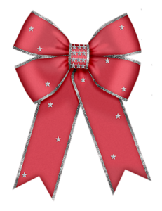 graphic freeuse download Christmas red bow clip. Bows clipart bowknot