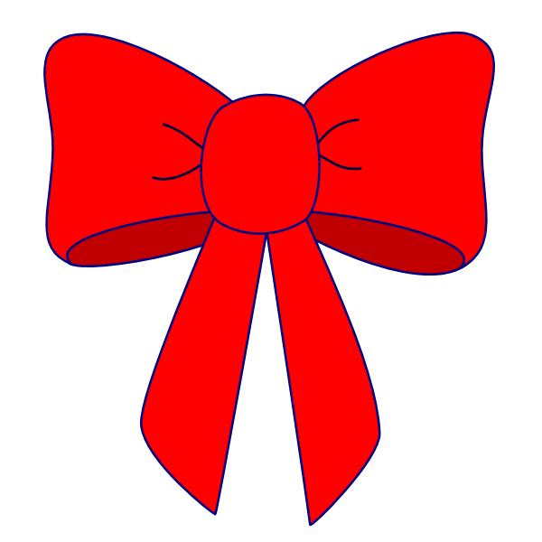 svg stock Red bow free images. Bows clipart clip art